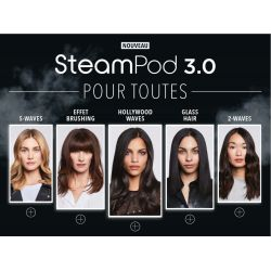 NEW STEAMPOD 3.0 - disponible à partir du 30/09/2019
